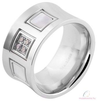 Akzent női ötvözött acél gyűrű