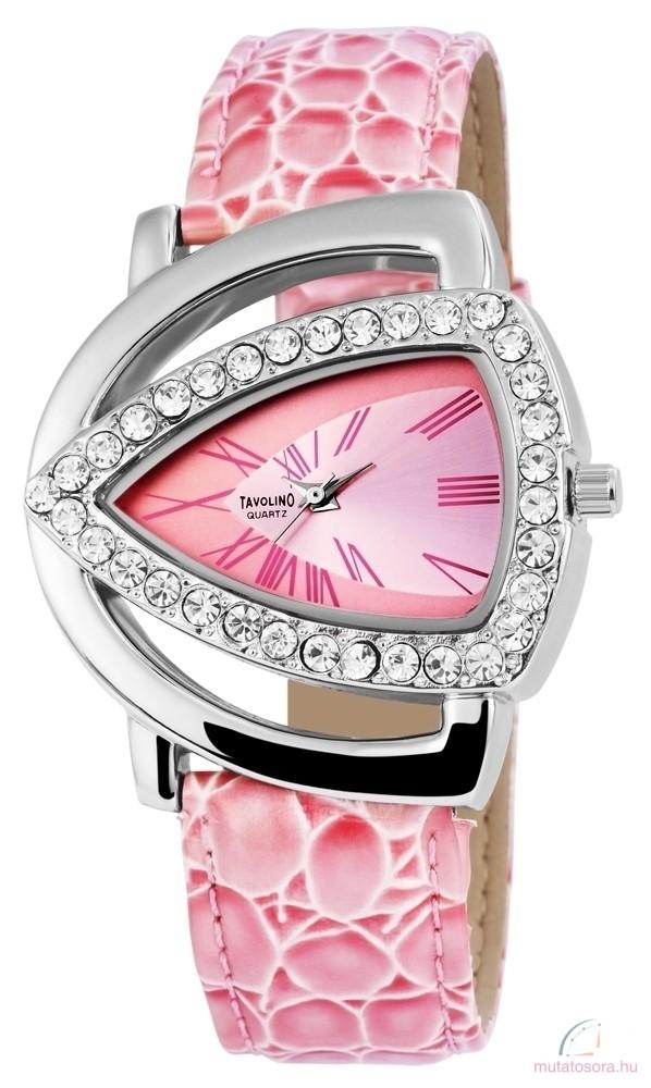 Tavolino női karóra pink - Akciós 35adbde0b2