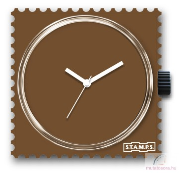 Pure Brown single stamps óralap