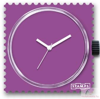 Pure Violet single stamps óralap