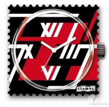 Racing vízálló stamps óralap
