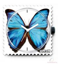 BLUE BUTTERFLY STAMPS óralap