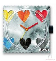 COLLECTING HEARTS STAMPS óralap