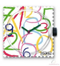FLYING NUMBERS STAMPS óralap