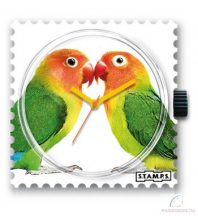 LOVE BIRDS STAMPS óralap