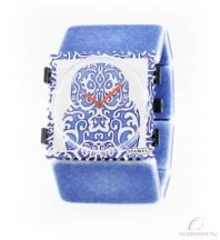 BELTA - DENIM BLUE STAMPS óraszíj