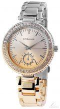 Excellanc bicolor női köves óra - arany-ezüst