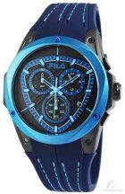 FILA vízálló férfi karóra dátum mutatóval kék