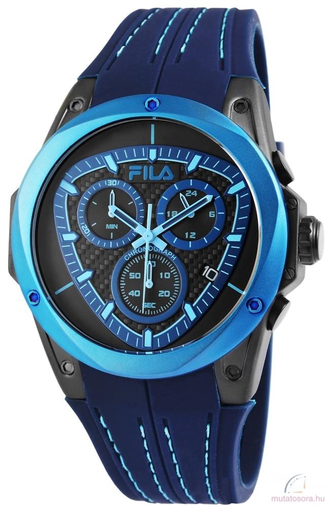 FILA vízálló férfi karóra dátum mutatóval kék - Akciós 2747802751