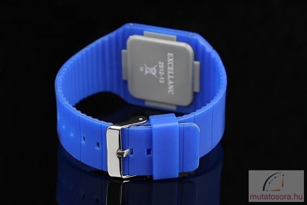 Excellanc kék szilikon szíjas női karóra - Akciós d60dea1ac5