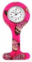 Adrina nővér óra szilikon - Rózsaszín