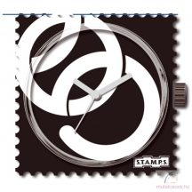 Open Rings single stamps óralap