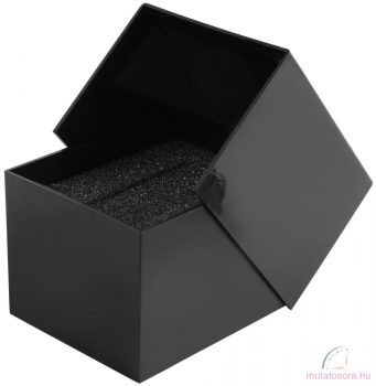 Műanyag fekete karóra doboz
