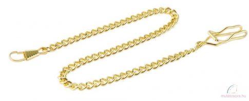 Arany színű zsebóra lánc