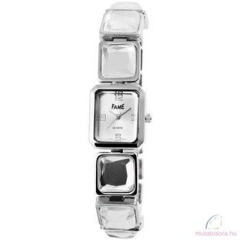 Fame Ezüst színű Kisméretű Köves Női óra
