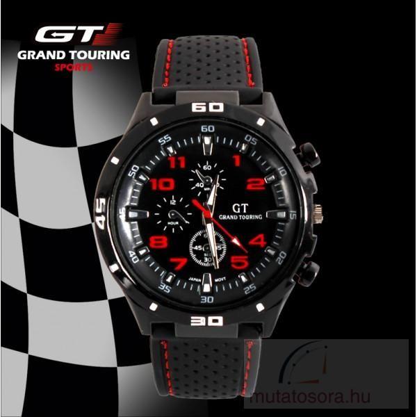 GT Touring Sport Férfi Karóra Szilikon Szíjjal - több színben ... b7706fd4e0