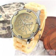 Geneva Dolly Ezüst színű Női óra Krém
