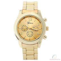 Geneva Chrono Style Arany Színű Női óra