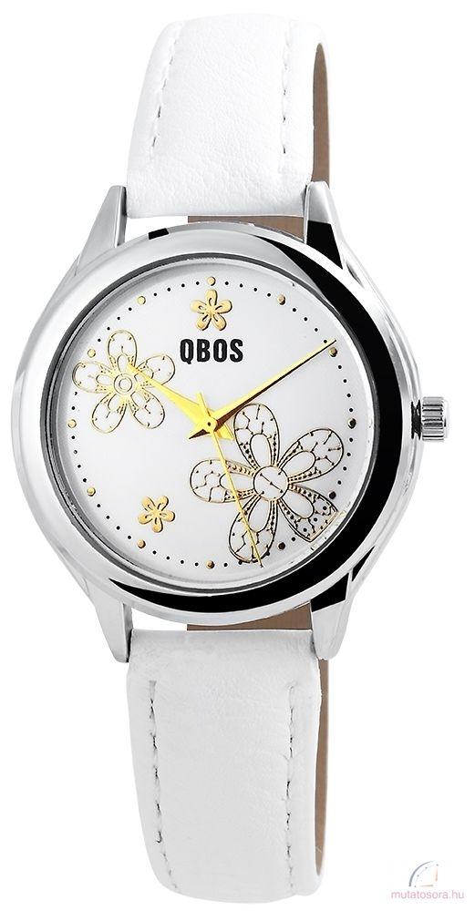 Qbos Virágmintás Női Óra - több színben - Akciós a0bed9637d