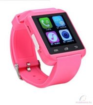 U-Watch U8 bluetooth okosóra - pink