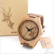 Bobo Bird B-F29 szarvas mintás fa óra