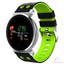 Cacgo K2 Bluetooth okosóra fekete-zöld - díszdobozban