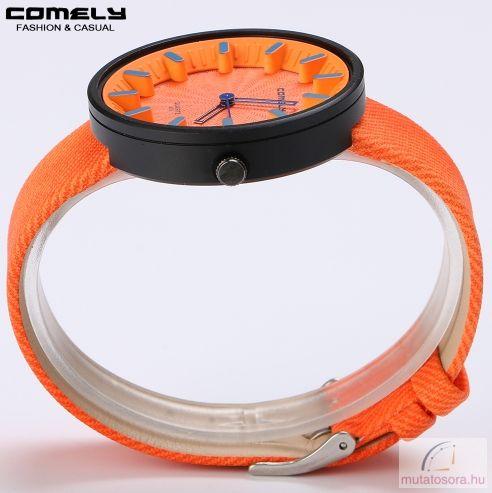 Comely unisex karóra divatos szintetikus bőrszíjjal - több színben ... 7f7a499564