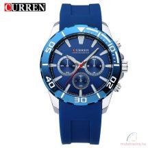 CURREN Sport Luxus Divatos férfi karóra kék