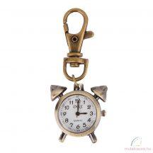 DBS bronz kulcstartó óra - vekker