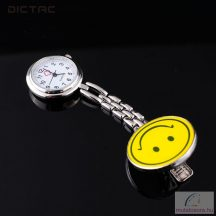 Dictac smileys nővér óra fém csiptetővel