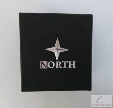 North fekete kocka óradoboz
