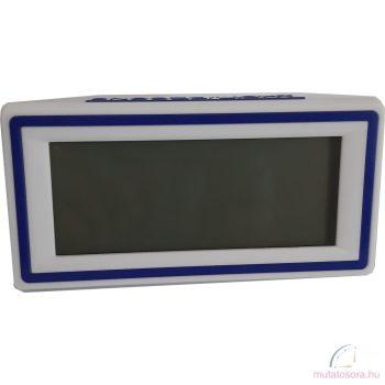 Led digitális ébresztőóra - Kék