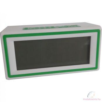 Led digitális ébresztőóra - Zöld