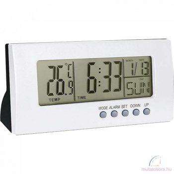 Digitális ébresztőóra hőmérővel