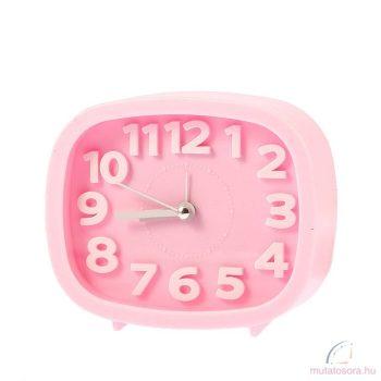 Rózsaszín Analog ébresztőóra