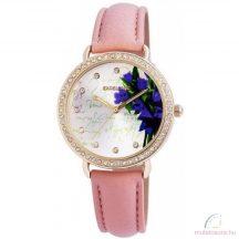 Excellanc Flower Köves Női Óra - Light Pink