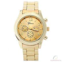 Geneva Chrono Style Arany Színű Női óra - Szépséghibás