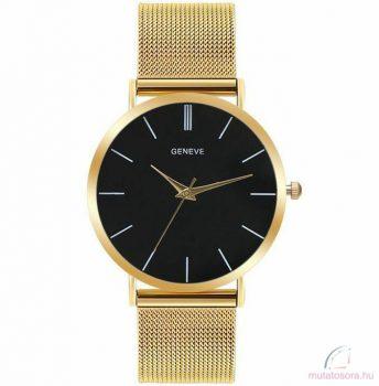 Geneve arany színű női óra fekete - Leértékelt
