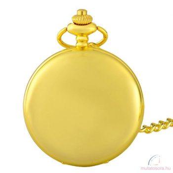 Arany színű antik láncos óra