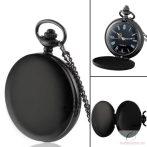 Fekete antik láncos óra