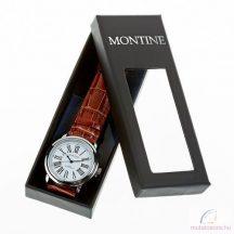 Montine klasszikus férfi karóra díszdobozban