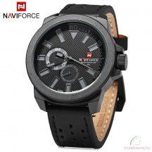 Naviforce nagyméretű férfi kvarcóra - fekete d8966958e8