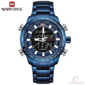 Naviforce dual kijelzős férfi karóra - Kék