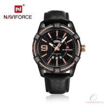 Naviforce műbőr férfi karóra - Fekete