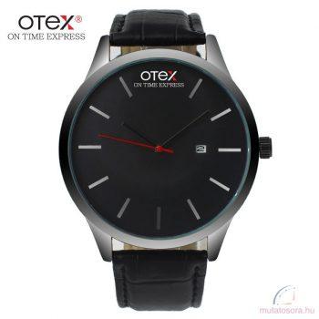 Otex divatos férfi karóra bőrszíjjal - több szín