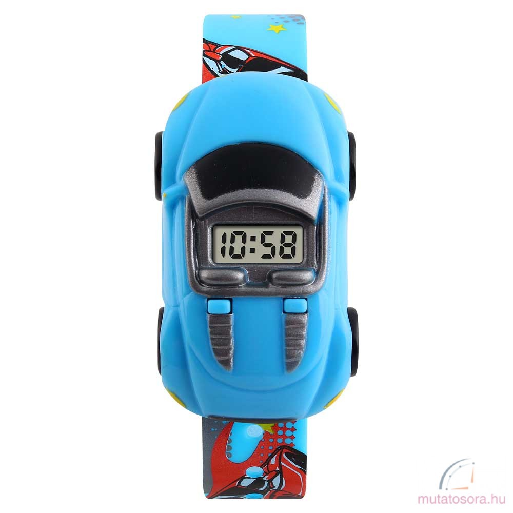 Skmei autós digitális gyerek óra - több szín - Akciós b9467a3470
