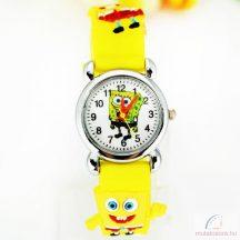 Spongya Bobos gyerekóra - sárga
