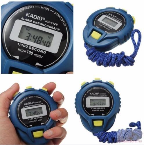 Digitális stopper óra - kék - Akciós d9938d55dc
