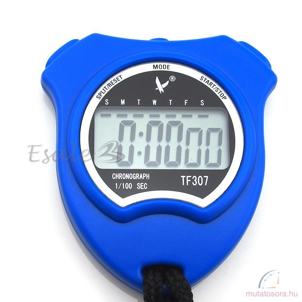 Kék digitális stopperóra - Akciós 4200680177