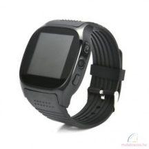 T8 bluetooth okosóra SIM támogatással - fekete